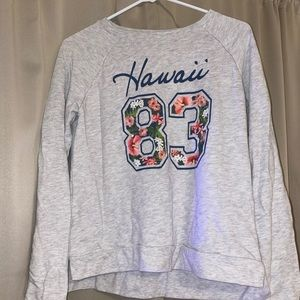 Cute Hawaii sweatshirt